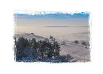 1845 Blick auf den Bisberg