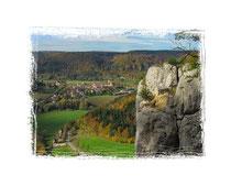 Donautal - Blick auf Beuron 5703