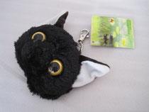 リールパスケース 黒猫