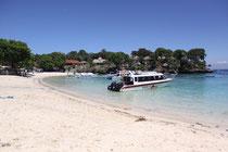 Angekommen auf der Nebeninsel von Bali - Nusa Lembogan = Angekommen im Paradies