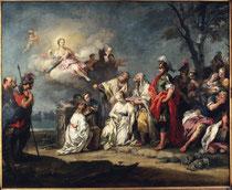 Jacopo Amigoni, Le Sacrifice d'Iphigénie, huile sur toile, vers 1740, musée des beaux-arts de Brest.