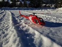Enrico aus Riezlern. Sehr detailliert aufgebaute AS350