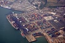Felixstowe Hafen