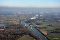 Mittellandkanal-Schleuse Sülfeld bei Wolfsburg