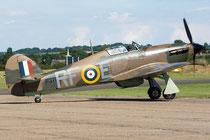 Hawker Hurricane XII - P3700 / RF-E - Duxford 2017