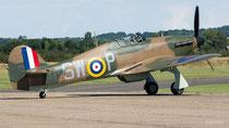 Hawker Hurricane Mk I -  P3717 / SW-P - Duxford 2017