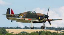 Hawker Hurricane Mk I - P2902 / DX-R - Duxford 2017