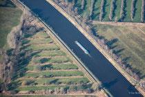 Mittellandkanal zwischen Wolfsburg und Rühen
