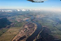 Die Elbe hinter Wittenberge