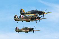 Hawker Hurricanes - Duxford 2017