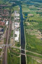 Mittellandkanal bei Fallersleben