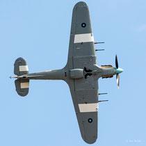 Hawker Hurricane IIc - PZ865 / EG-S - Duxford 2013