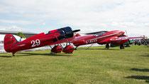 mit de Havilland D. H. 88 Comet - Duxford 2017