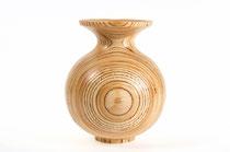 Vase aus Seekiefer Sperrholz