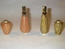 Parfumzerstäuber aus Kirsche und Essigbaum