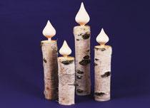 Kerzen aus Birke
