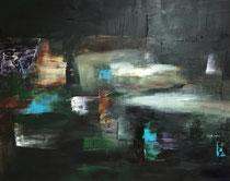 NIRGENDWO, Acryl, 100 x 120 cm, 2018