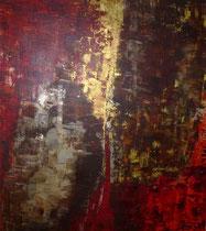 Dämonen und andere Geister, Acryl, 80x60cm, 2013