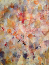 Glücklich versteckt, Acryl, 90x90xm, 2014