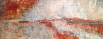 Wohlfühlmomente, Acryl, 40x90cm, 2015