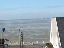 La vue sur la Baie de Somme depuis la chambre