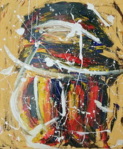 """Empty 2"", 2015, acrylic paint on cavas, 40 x 60 cm."