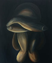 """Empty"", 2015, acrylic paint on cavas, 40 x 60 cm."