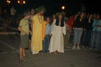 Teggiano, rituale magico - fotocapozzoli©2005