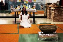 Centro Yoga Pranava, celebrazione solstizio d'inverno, 2008