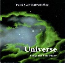Eine Liederreihe minimalistischer Klavierstücke mit stilistischen Zügen aus Pop, Jazz und Filmmusik zum Thema Universum.