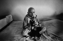 Elena 13 years old, malignant brain tumour. Oncology children's hospital, Lesnoie Borovlyany, Minsk (Belarus)