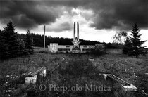 Contaminated lands, an evacuated village. Bartolomeevka, Gomel (Belarus)