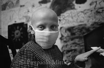 Caterina, 9 years old, thyroid cancer. Oncology children's hospital, Lesnoie Borovlyany, Minsk (Belarus)