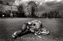 Playground, with Ferris wheel. Pripyat, Zone of Exclusion (The Ukraine)