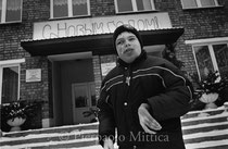 Igor, 16 years old, infantile cerebral paralysis and neurofibromatosi, orphanage for handicapped children, Ivenez, Minsk (Belarus)