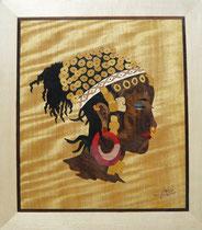 Femme peule du Mali en habits de fête (315/365)
