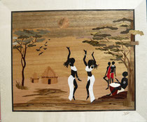 Deux danseuses africaines en robe blanche (430/365)