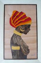 Buste d'africaine (230/340)