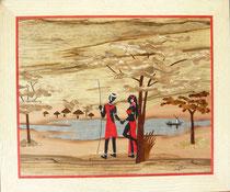 Les amoureux massaïs au lac (390/330)