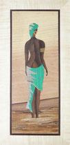 Trésor du désert en robe verte (185/385)