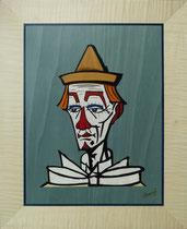 Clown au chapeau jaune 1977 Bernard Buffet (370/460)