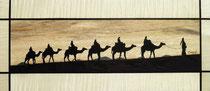 La caravane dans le désert (455/200)