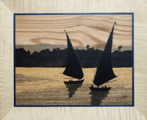 Les fellouques sur le Nil (370/305)