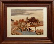 Vieux pont à Sachers 1975 Bernard Buffet (520/420)