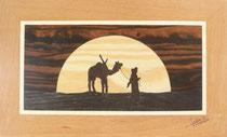 Touareg au coucher du soleil (285/170)