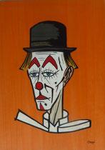 Clown au chapeau noir 1979 Bernard Buffet (280/390)