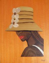 La femme au chapeau jaune (270/350)