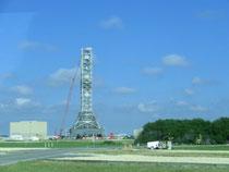Abschussbasis der Apollo-Raketen