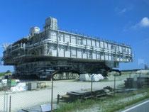 Crawler zum Transport der Raketen und Space Shuttles