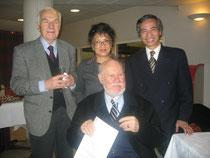 20 mars 2006 avec Messieurs Audat, Crozier et S.E. l'ambassadeur